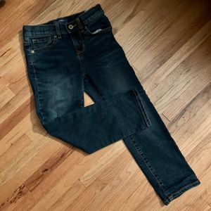 Dark Wash Boys Jeans - Karate Style